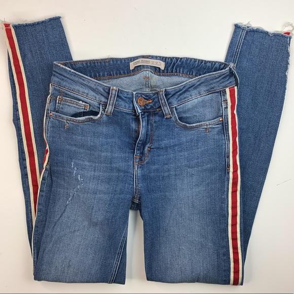 Zara Basic Stretch Skinny Denim Jeans